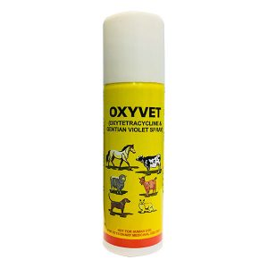 Oxytetracycline & Gentian Violet Spray